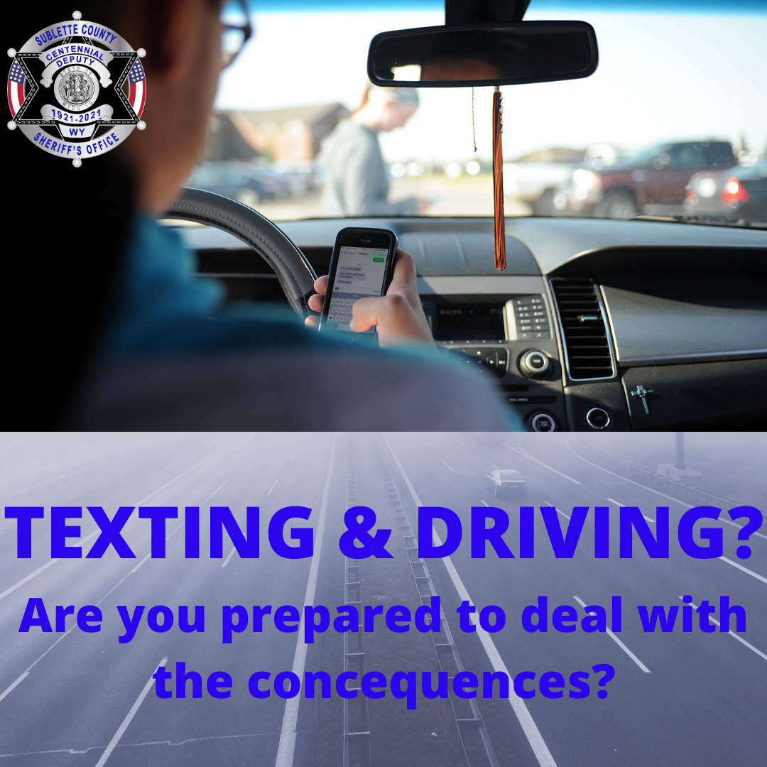 April is National Distracted Driver awareness month!