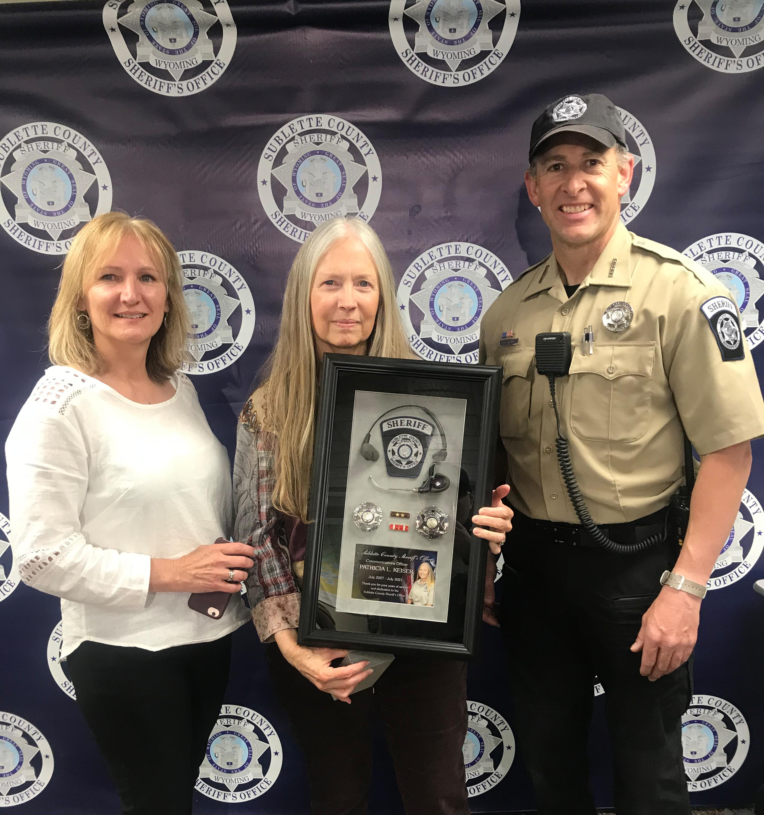 Communications Officer Patty Keiser Retires!