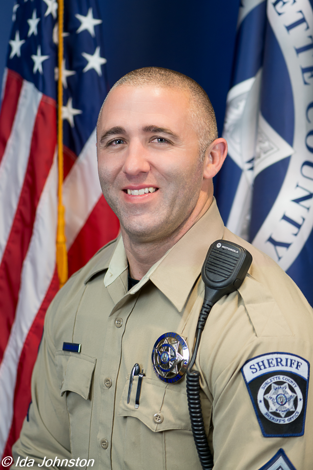 Deputy Logan Gehlhausen Retires after 15 years with the SCSO
