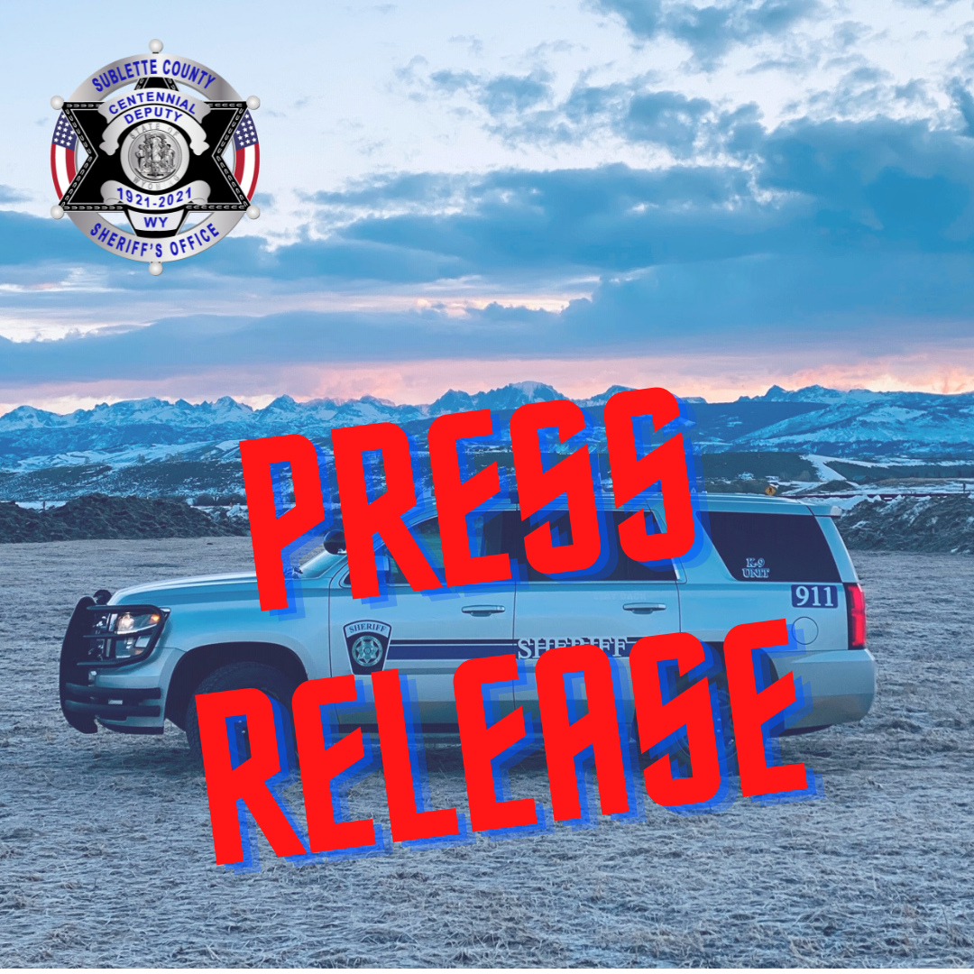 (Pinedale, Wyo – September 16th, 2021) SCSO announces online radio scanner service.