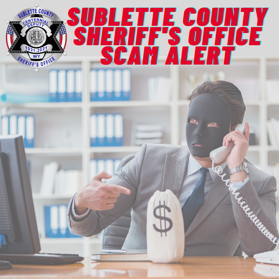 SCSO recieves more scam calls and reminds citizens to remain vigilant