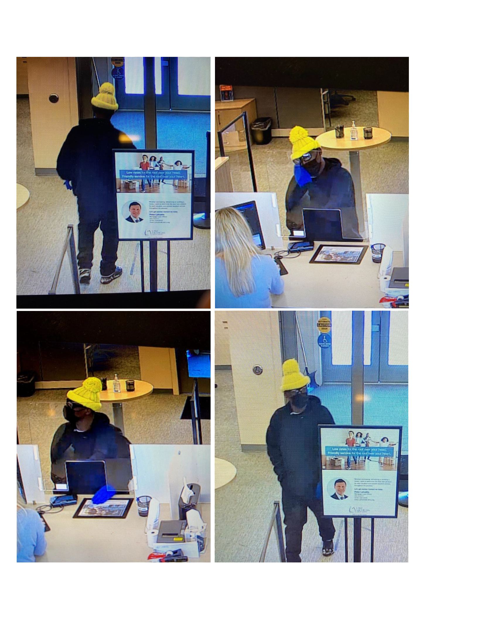 Bank Robbery at LMCU - Gaines Township