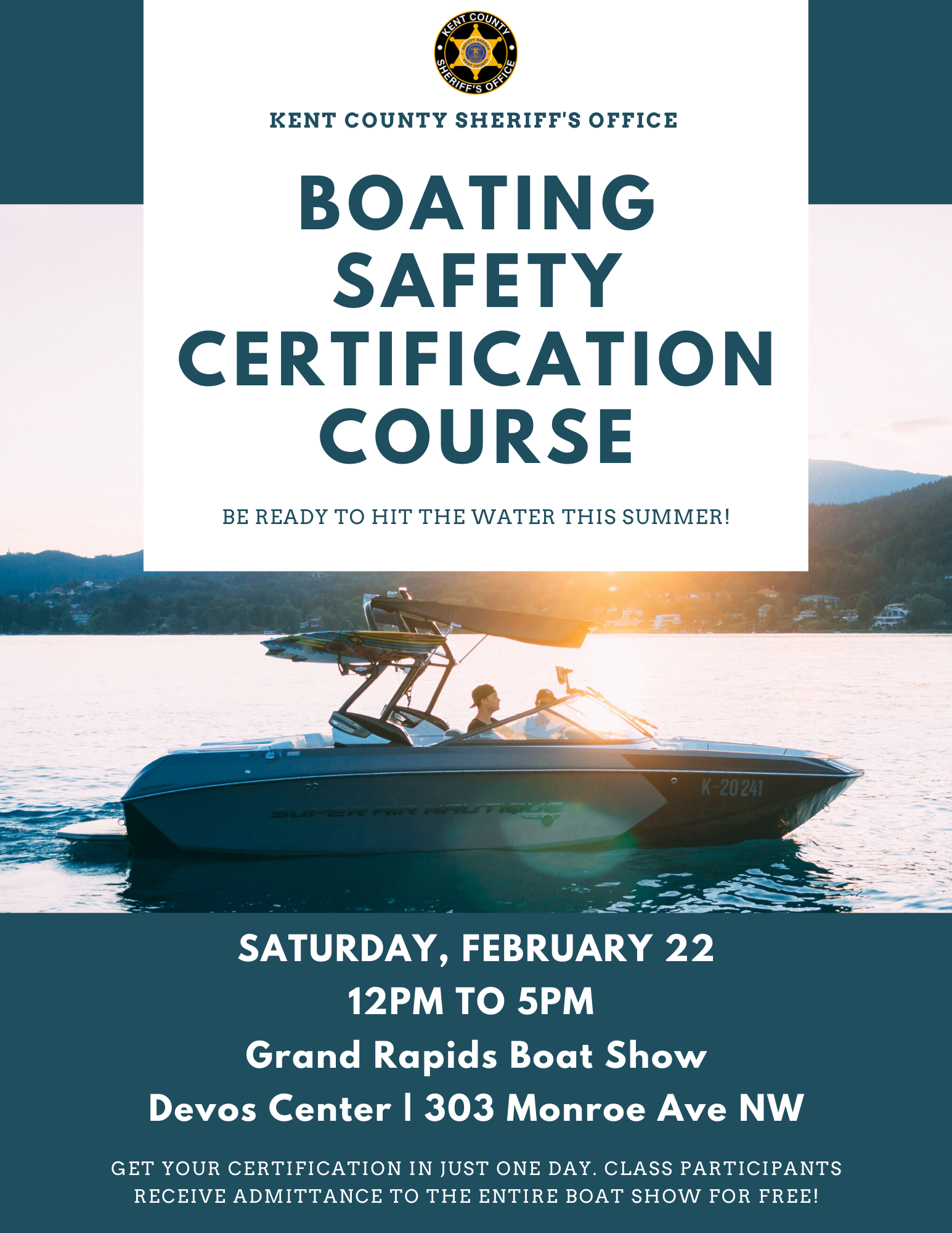 Boating Safety Certification Course