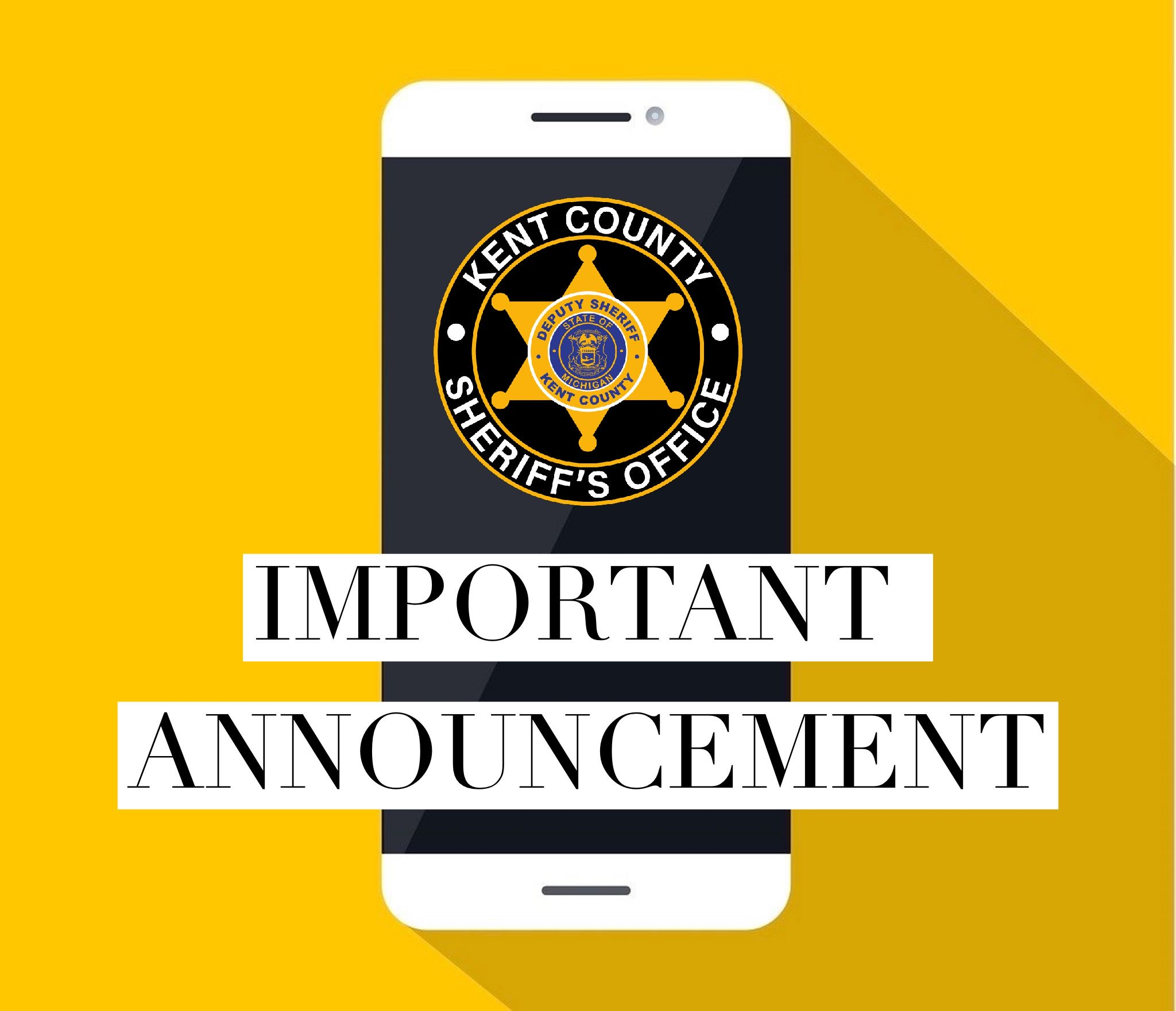 KCSO Events Cancelled due to COVID-19