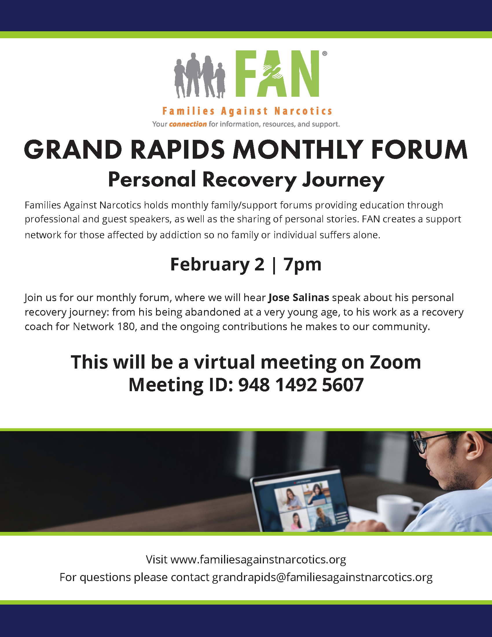 Grand Rapids Families Against Narcotics (FAN) Meeting 02/02/2021