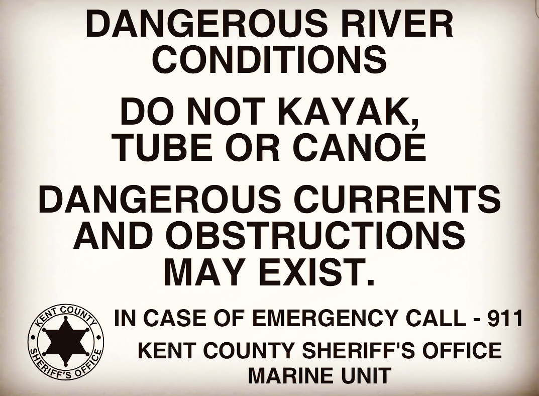 KCEM and KCSO Marine Unit Not Recommending Recreation on Kent County Rivers Due to Flooding