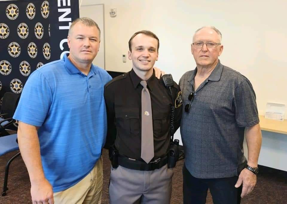 KCSO Celebrates Family with Three Generations of Service to Kent County