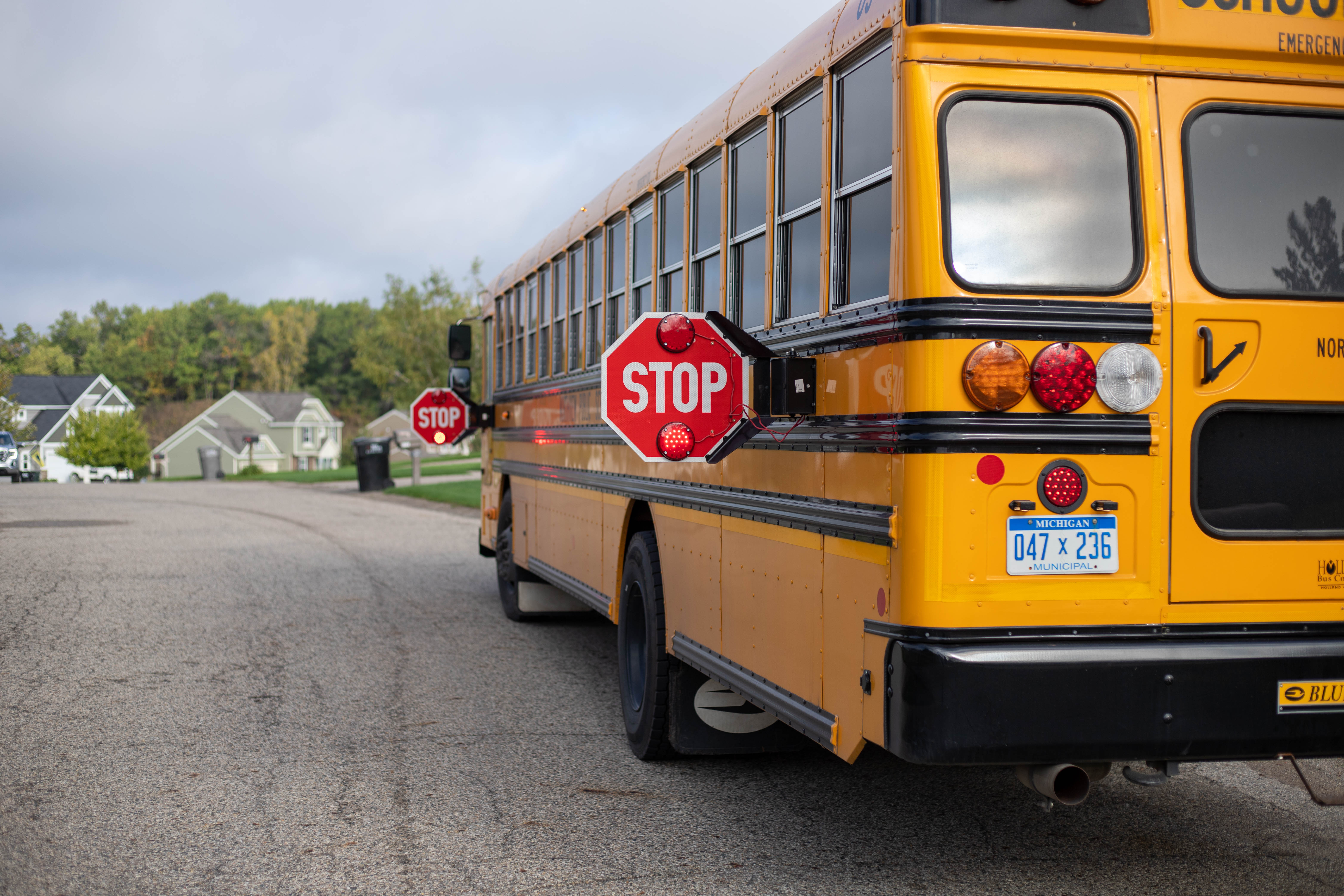 KCSO Participates in National School Bus Safety Campaign, Operation Safe Stop