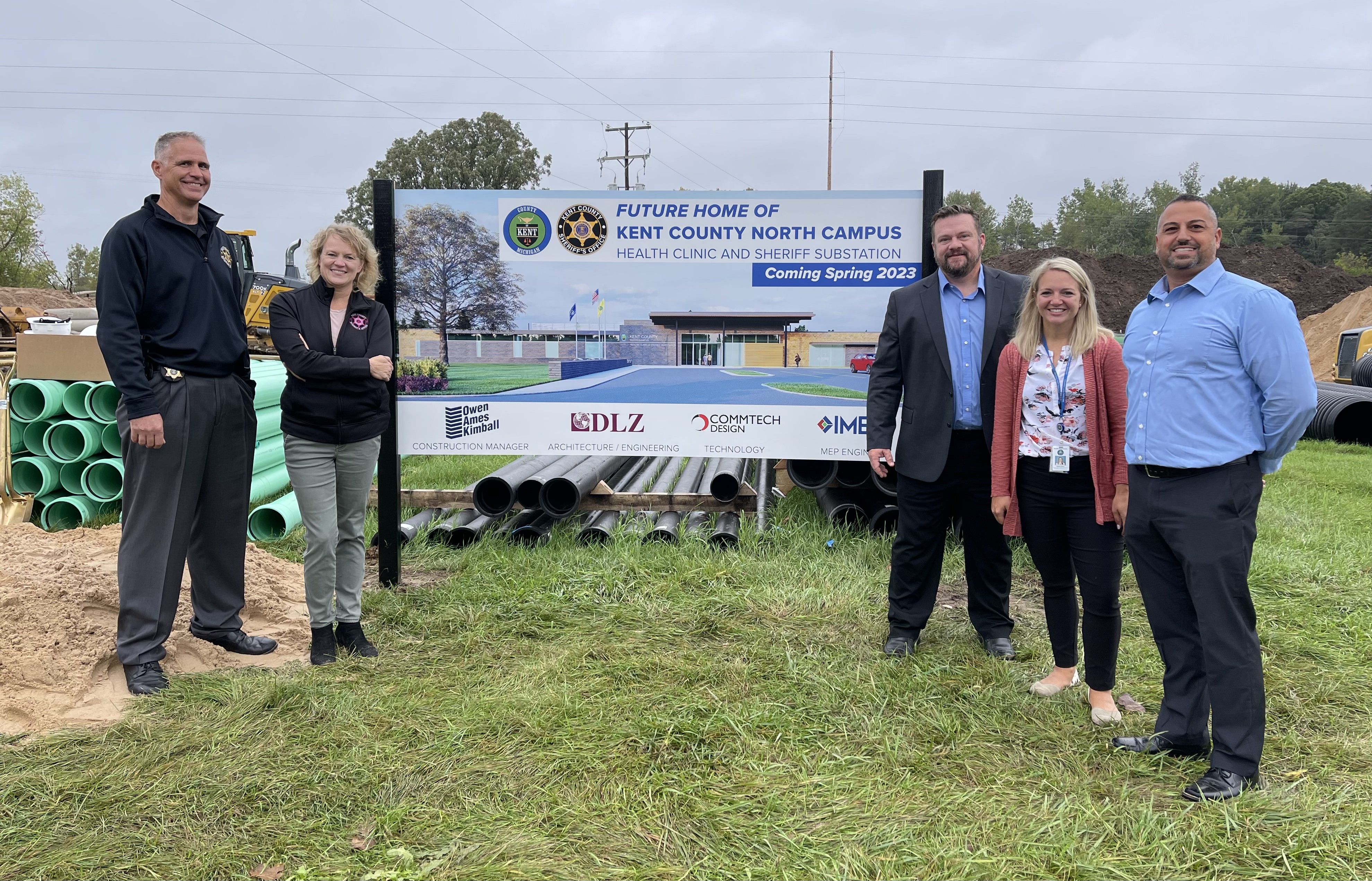 Kent County Breaks Ground on North Campus