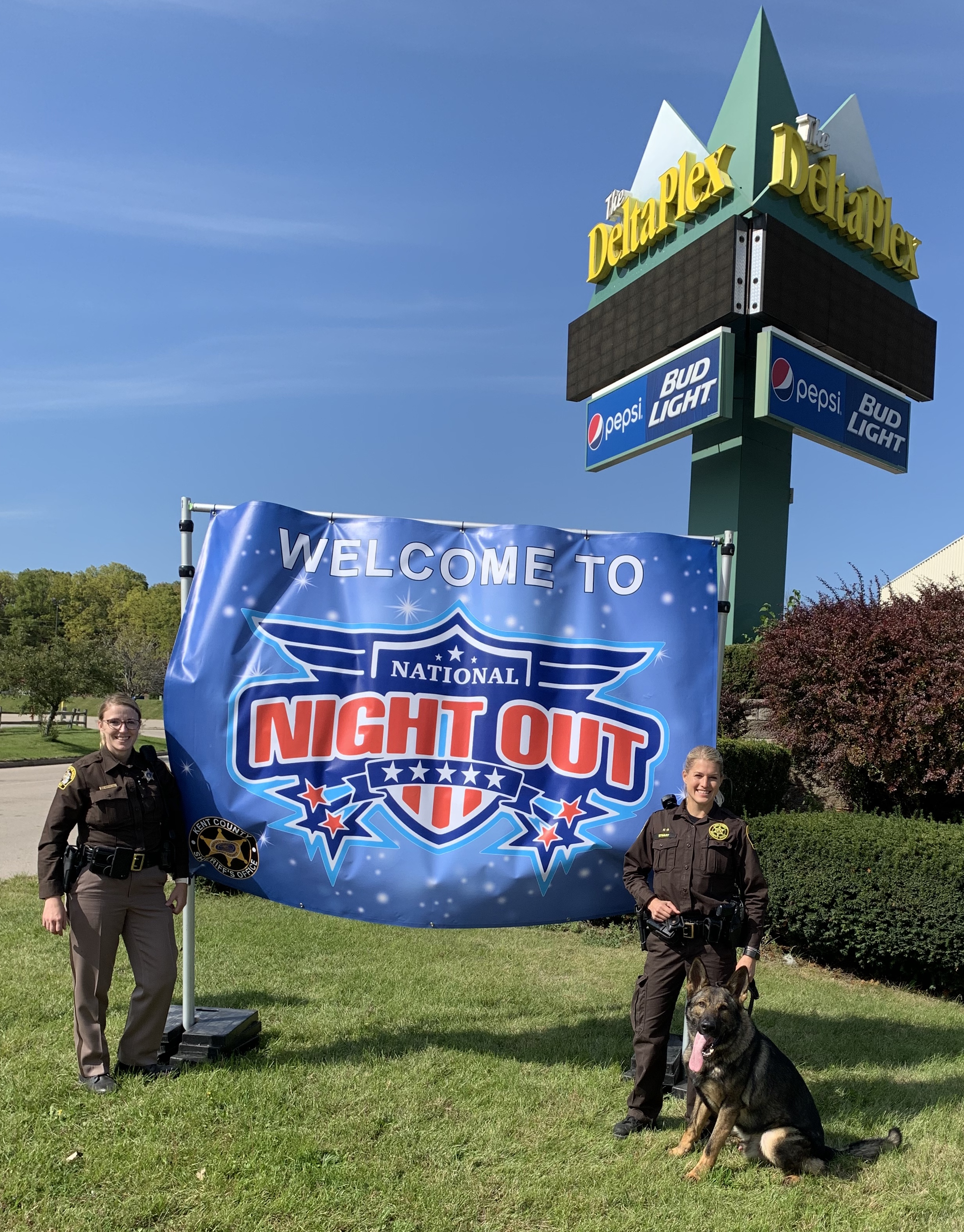 Kent County Sheriff's Office Hosting National Night Out Drive-Thru Parade Tonight!